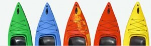 kayak colours